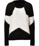 Puha Pullover in Black/Creme