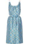 Kleid aus Seiden-Jacquard