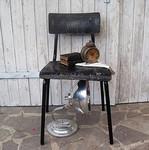 Vintage Stuhl im Industriedesign