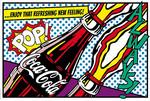Coca-Cola - pop! Poster