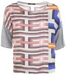 Shirt mit geometrischem Muster