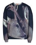 Sweatshirt Deer Print