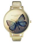 Armbanduhr mit Schmetterling