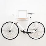 SLÎT Fahrradhalterung weiß