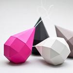 Set Geometrie Pink/Grau