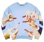 Sweatshirt Lipstick Print