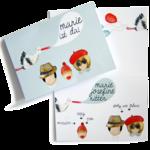 Baby-Karten-Set