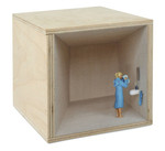 Bedruckte Holzbox