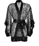 Chantilly Lace Belted Kimono