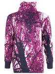 Rollkragen-Pullover mit Print