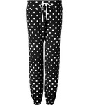 Jogging-Pants mit Polka Dots