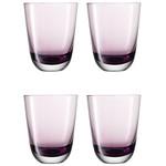 4er Set Gläser