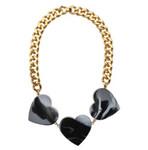 Halskette coeurs Marble