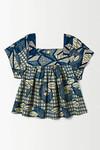 Bluse im niederländischen Stil