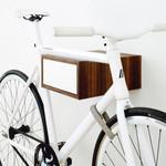 Tîan Fahrradhalterung Walnuss/Weiß