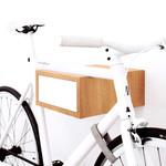 Tîan Fahrradhalterung Eiche/Weiß