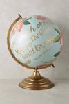Handbemalter Globus
