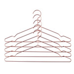 Kleiderbügel in Kupfer