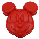 Mickey Mouse Silikon Backform