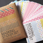 Masking Sticker Set