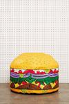 Mini Burger Sitzkissen