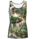 Top mit Dschungel-Print