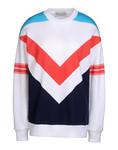 Geometric Print Sweatshirt