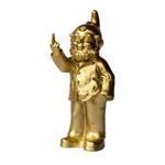 Gartenzwerg GOLD