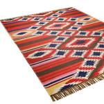 Teppich Kelim Deluxe, handweb, rot