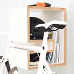 KAPPÔ Fahrradhalterung Weiß