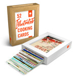 52 illustrierte Cooking Cards