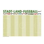 Stadt-Land-Fußball Tischset