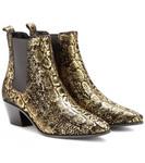 Chelsea Boots Veloursleder