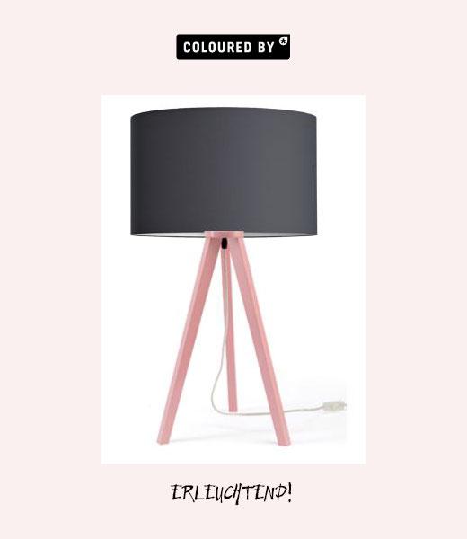 Tischlampe von Coloured By