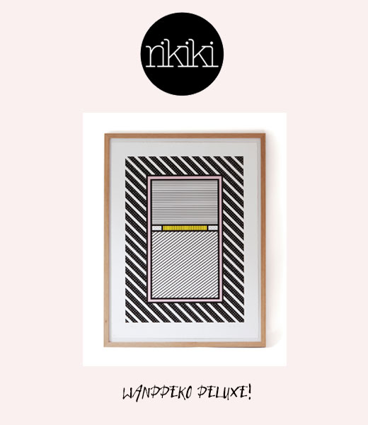 Kunstdruck von Katy Blinks bei rikiki