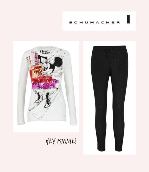 Minnie Mouse Shirt und Hose von Schumacher