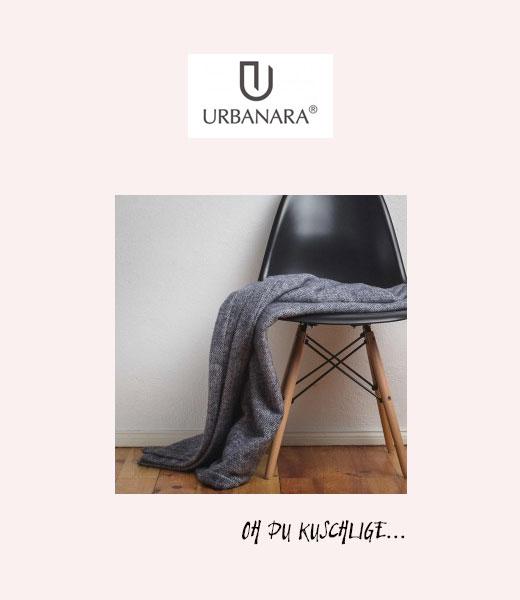 Kaschmir-Wolldecke von Urbanara