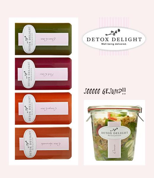 Juice & Dinner Delight von Detox Delight