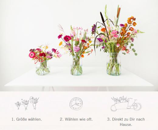 Blumen Abo bi bloomon online bestellen