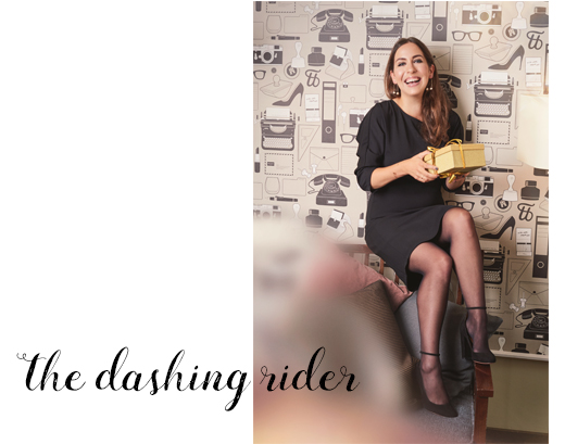 Fiona Dinkelbach von the dashing Rider im Christmastree Adventskalender, Blog, blogger