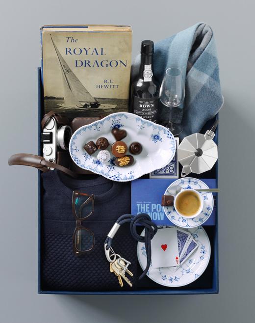 Royal Copenhagen Geschenk-Set mit Espressotassen der Musselmalet Gerippt Serie gewinnen