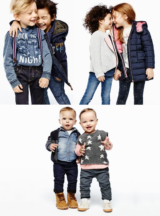 Kindermode von s.Oliver Junior für Jungen, Mädchen und Babys