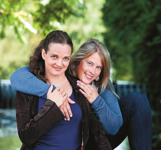 Autorinnen Slow Family Julia Dibbern und Nicola Schmidt