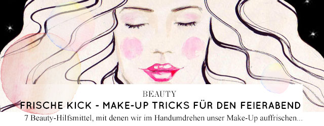 Frische Tricks für das Make-Up