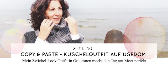 Blogger Styling und Outfit online nachbestellen - Modetrend Strick im Winter 2014