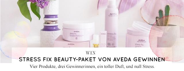 Aveda Stress Fix Beauty und Pflegeprodukte gegen Stress mit Lavendel gewinnen, Gewinnspiel