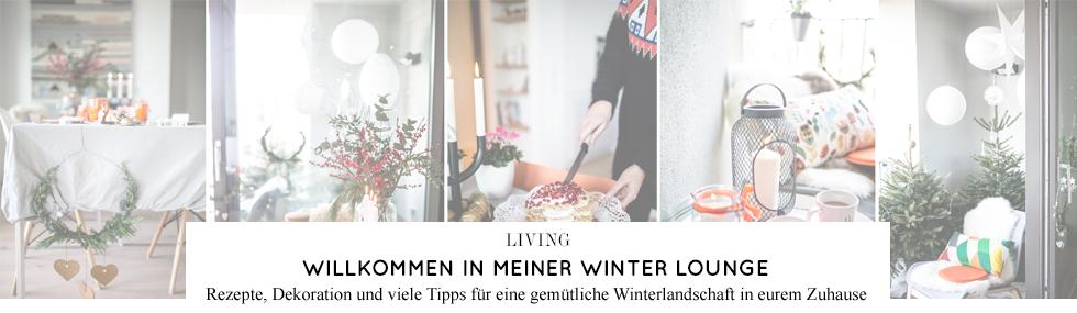 Winter Lounge - Rezepte, Ideen, Dekoration, Inspiration und Tipps für die Einrichtung im Winter