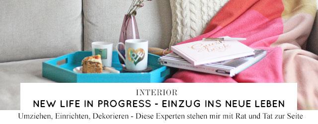 Interveiws, Empfehlungen und Expertentipps zum Thema Umzug, Einrichtung, Dekorieren und Wohnen