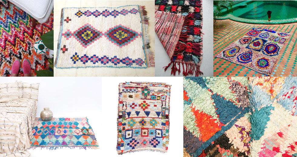 Boucherouite-Teppiche online bestellen, Onlineshop, marokko, vintage