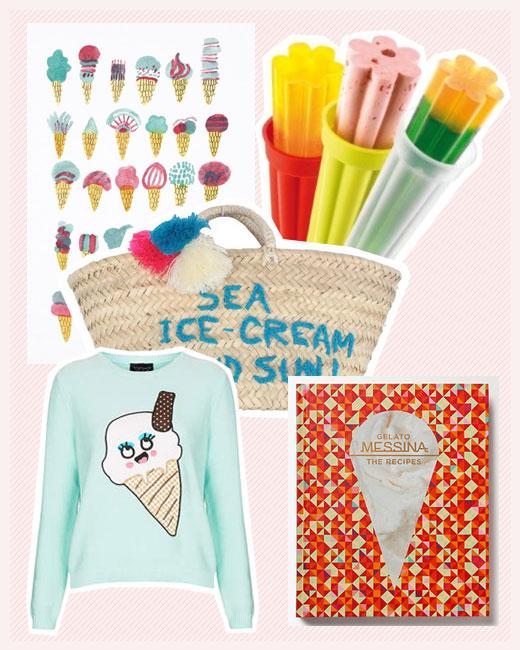Sommer-Liebe - Eiscreme & Co